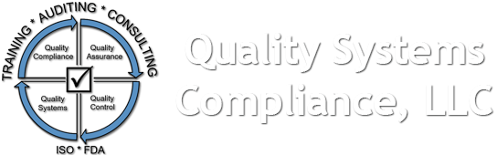 FDA, ISO, Quality: Auditing, Training, Consulting ⋆ Quality Systems Compliance (419) 265-2862
